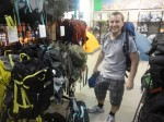 After over an hour of deliberation me with my new  Deuter Futura Vario 50+10 Backpack