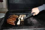 Me cooking up a BBQ like a BAWS!!!