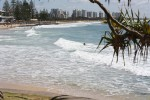 Beautiful Beach in Mooloolaba on Sunshine Coast.