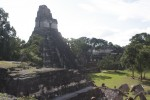 Some of the ruins in Tikal Guatemala