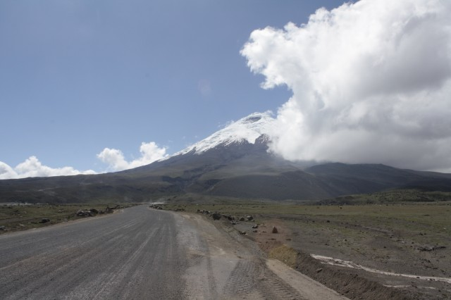Road to Cotopaxi
