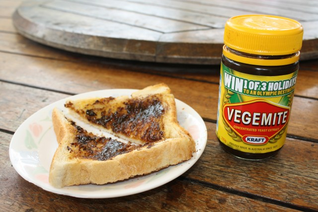 Can't beat vegemite on toast for a cheap meal ;)