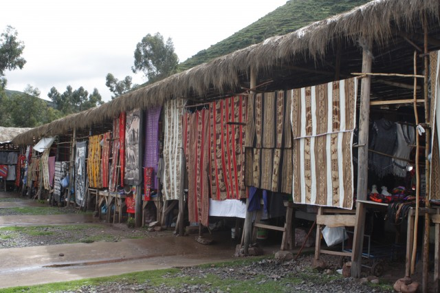 Sacred Valley Peru Market