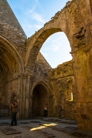 ruins of Corcomroe Abbey