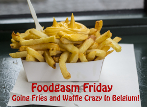Foodgasm Friday: Going Fries and Waffle Crazy In Belgium!