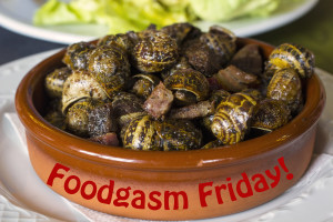 FoodGasm Friday: On The Spanish Snail Trail!
