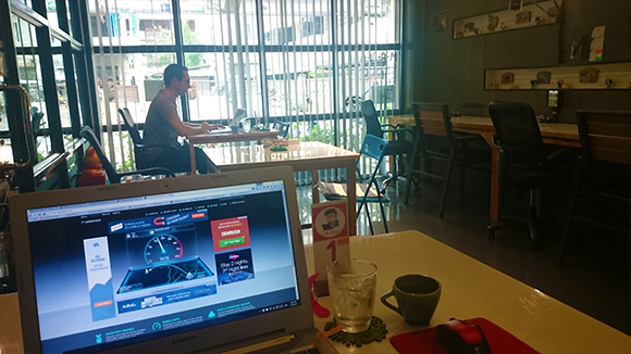 Coworking at Mana Cafe