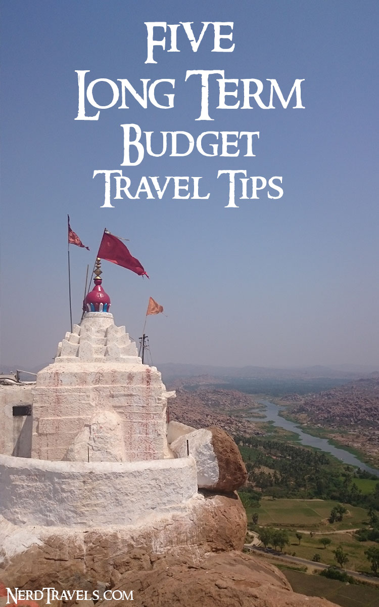5 budget long term travel tips