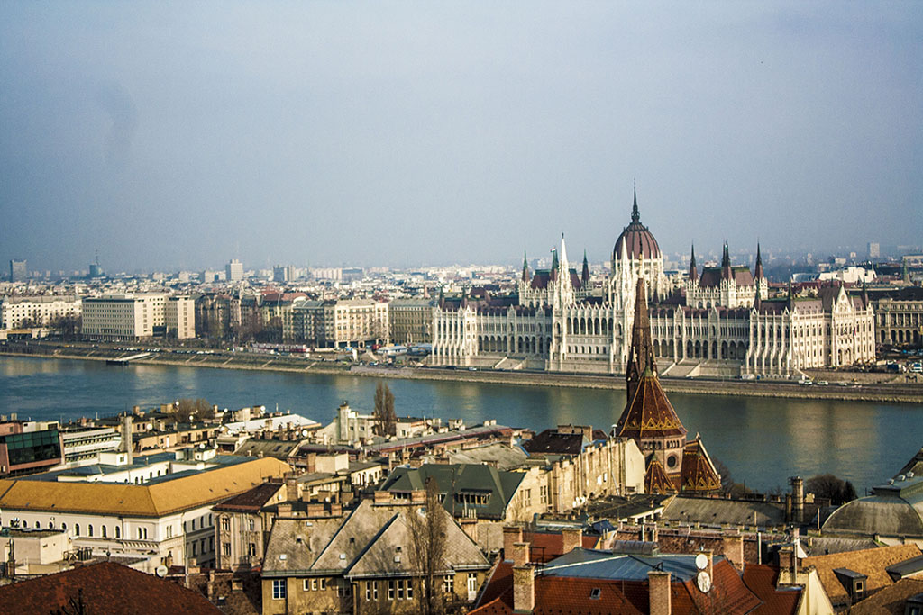 The cheap and beautiful city of Budapest Hungary