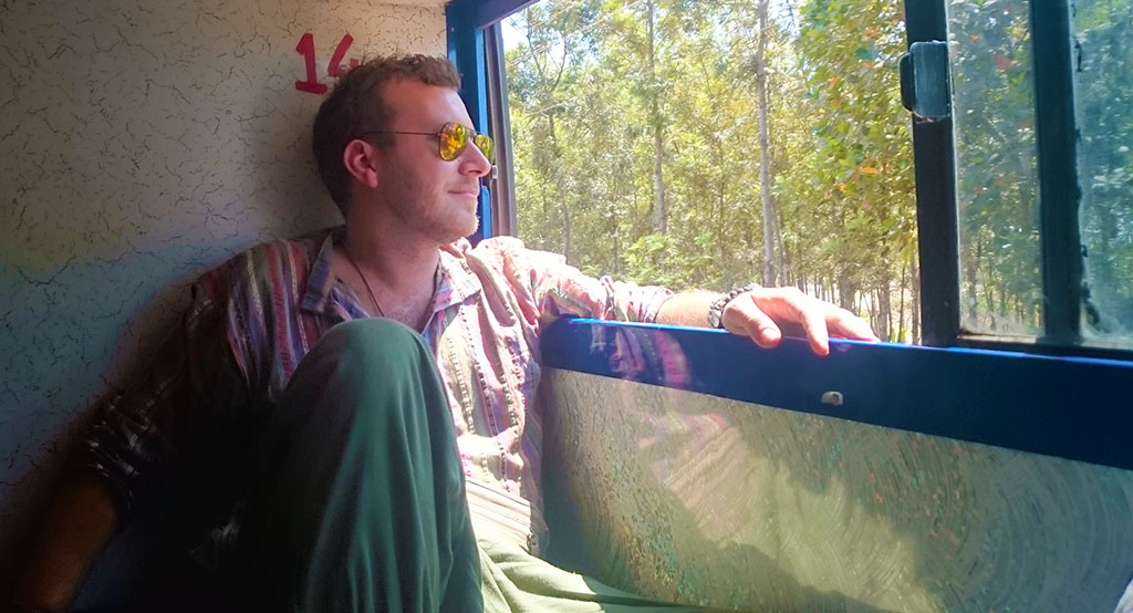 Getting an overnight sleeper bus in India